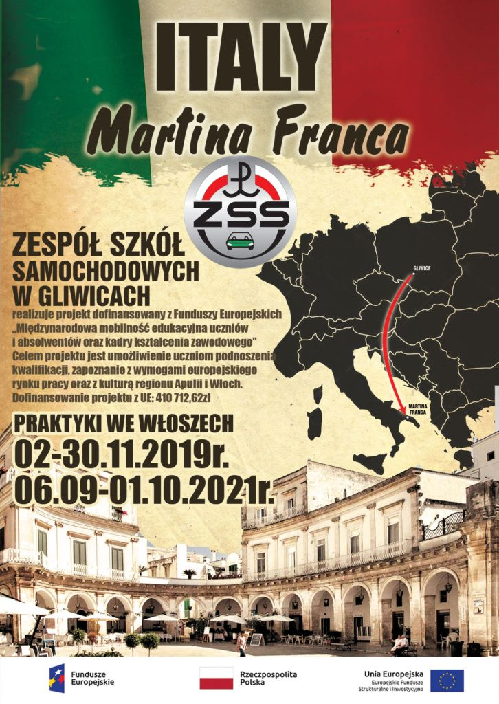 Plakat praktyki Martina Franca